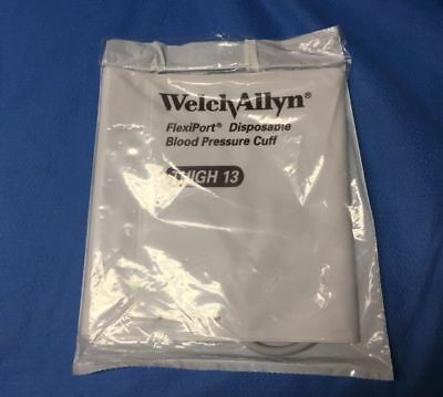 Case Of 20 Welch Allyn 901044 Disposable Soft Blood Pressure Cuffs Thigh Size 13