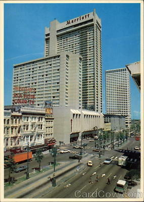 New Orleans,LA Canal Street Louisiana Postcard Colourpicture