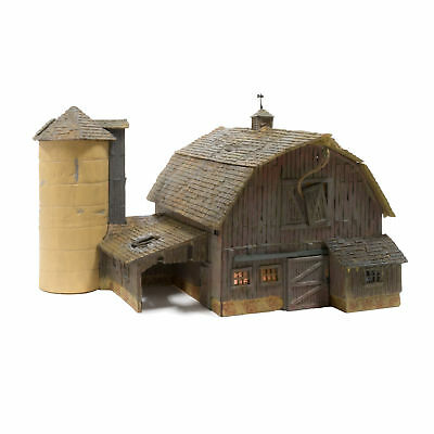 Woodland Scenics N Scale Built-Up Building/Structure Old Weathered Barn