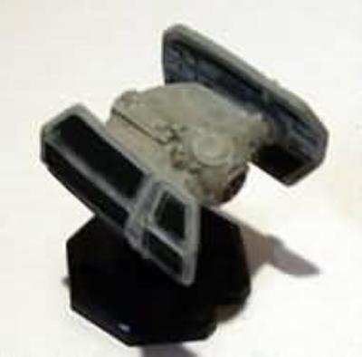 WOTC Star Wars Minis Starship Battles Darth Vader's TIE Advanced SW