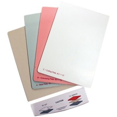 "Spellbinders Grand Calibur Replacement Plates-8.5""x12"" - Die Plates Cutting Tray"