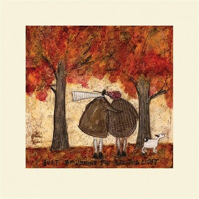 The Art Group Sam Toft I Would Walk To The End Of The World With You Canvas