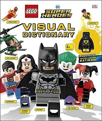 LEGO DC Super Heroes Visual Dictionary Elizabeth Dowsett