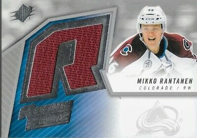 57aee9e77 Mikko Rantanen Sp Jersey Rc 2015-16 Upper Deck Spx Rookie Relic Avalanche  Hot!