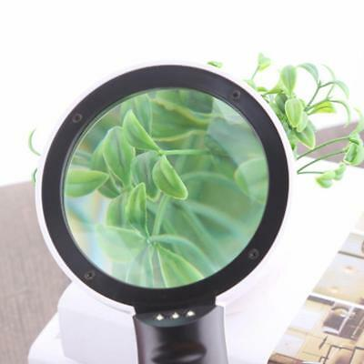Hand Held HD 30x Magnifying Optical Glass Lens Magnifier Loupe With LED Lights