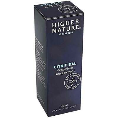 Higher Nature Citricidal Choice of 25ml, 45ml or 100ml Supply