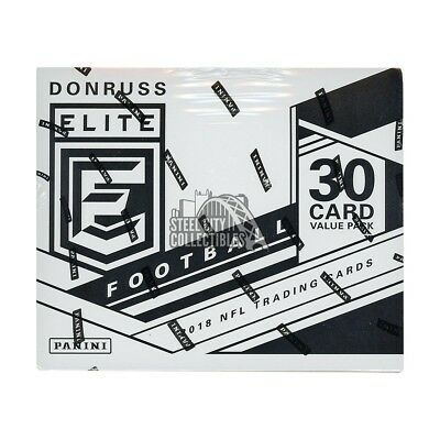 2018 Panini Donruss Elite Football 12ct Fat Pack Box