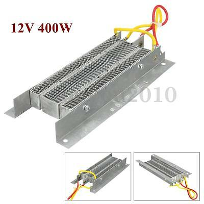 400W 12V Electric Ceramic Thermostatic Insulation PTC Heating Element Heater Kit