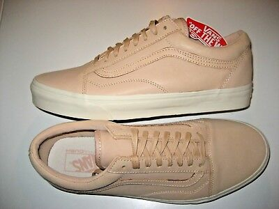 Vans Mens Old Skool DX Veggie Tan Leather Skate shoes Size 12 NWT  VN0A32GJLUI c4a041670