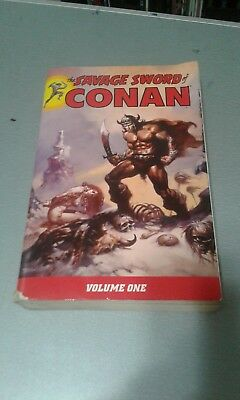 The Savage Sword of Conan Volume one