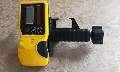 Laser Receiver for laser level For Leica, 9v Battery Incl. Geomax, Topcon