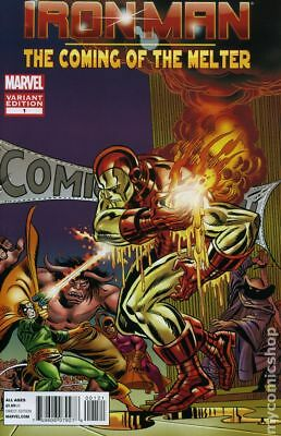 Iron Man The Coming of The Melter 1B 2013 NM Stock Image