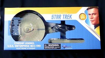 Star Trek USS Enterprise NCC-1701 Electronic Starship Legends New 2018 Sounds