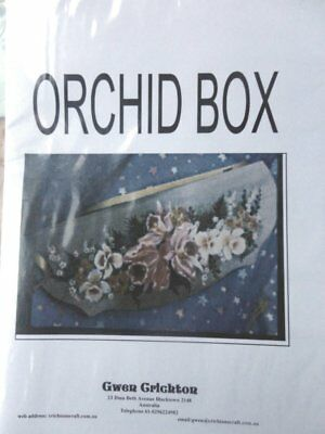 Painting Pattern - Orchid Box