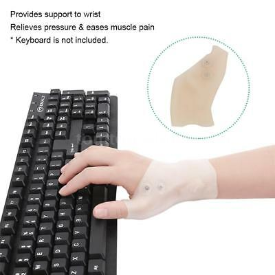Magnetic Therapy Glove Wrist Support Thumb Hole For Arthritis Pain Relief S4D8