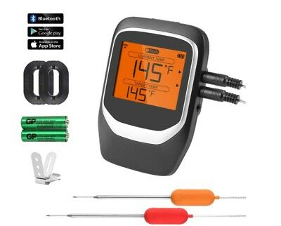 Digital Meat Thermometer, Wireless Bluetooth BBQ Thermometer