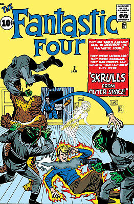 True Believers Fantastic Four Skrulls #1 (Reprint) Marvel - 12/5/18