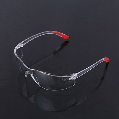 Safety Glasses Lab Eye Protection Clear Lens Workplace Eyewear Scratch Resistant