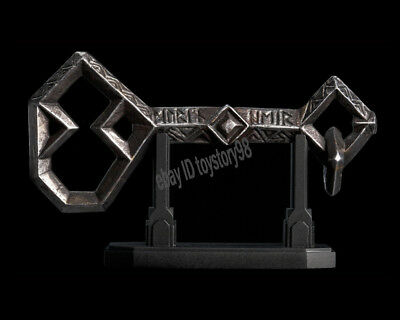 WETA The Lord of the Rings THE KEY TO EREBOR Prop Replica Hobbit Metal IN STOCK