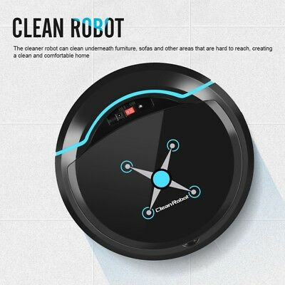 Holmark Automatic Robot Robotic Vacuum Floor Cleaner Sweeping Mopping Recharge