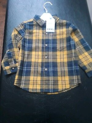 Next Boys Shirt Aged 12-18months