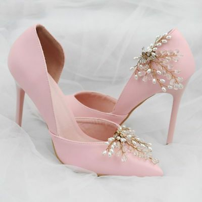 Shoe Clip Wedding Shoes Buckle Clip-on Bride High Heel Charms Luxury Decoration