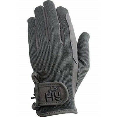 Hy5 Children's Every Day Riding Gloves - Black - Child Large