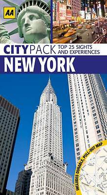 (Good)-CityPack New York (AA Colours of.) (Paperback)-AA Publishing-0749571942