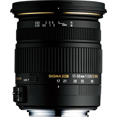 Sigma Second Stock 17-50mm F2.8 EX DC OS HSM Lens - Canon Fit
