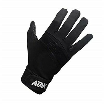 Atak Equus Equestrian Gloves - Black - Small - Size 7