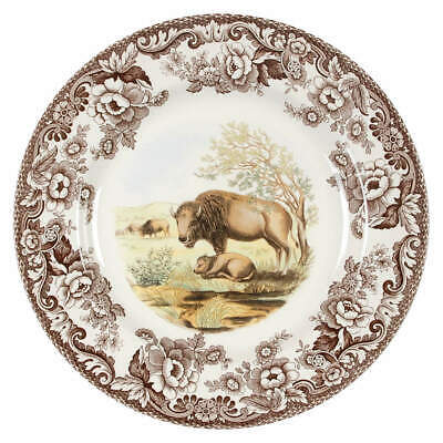Spode WOODLAND Bison Dinner Plate 4579702