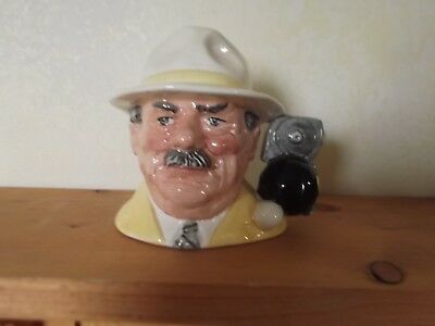 Royal Doulton Toby Character Jug / Mug The Bowls Player