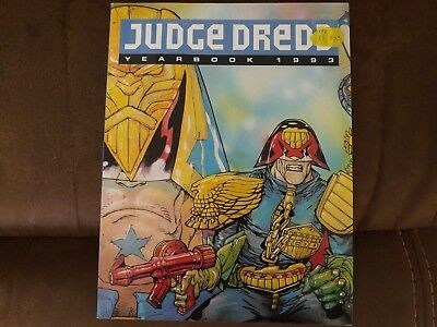 Judge Dredd YEARBOOK 1993 Illustrated Paperback