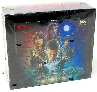 2018 Topps Stranger Things Retail Box Blowout Cards