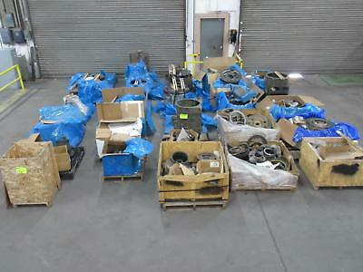 Wholesale Lot of Komatsu Parts - 27 Pallets of Parts