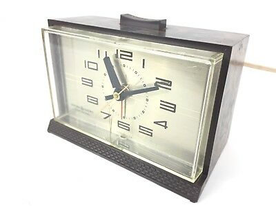 Vintage GE General Electric Alarm Clock Model 7396-5A 120V Made In The USA
