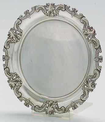 Wallace GRANDE BAROQUE STERLING Pierced Bread & Butter Plate 1986760