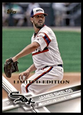 2017 Topps Limited #682 James Shields