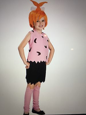 The Flintstones Pebbles Costume Medium HALLOWEEN NEW size 8-10 for 5-7 year  old