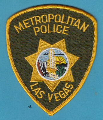 Las Vegas Nevada Metropolitan Police Shoulder  Patch