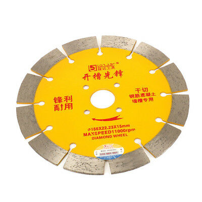 6 Inch Diamond Circular Saw Blade Cutting Disc For Concrete Masonry Cutter Tool