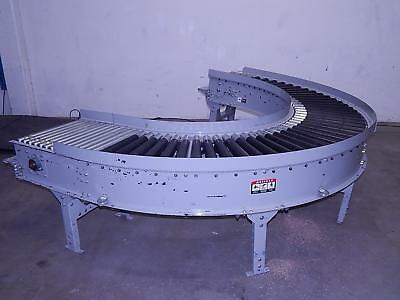 Automotion VB1-11691 180 Degree Curved CAster Conveyor 24 In wide T114415
