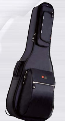4/4 Classical Guitar Gig Bag by Crossrock Heavy Duty Padded with Backpack Straps