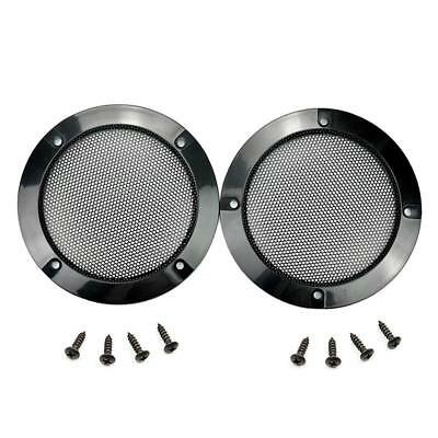 1 Pair 4.88 Inch Arcade Speaker Grill With Screws