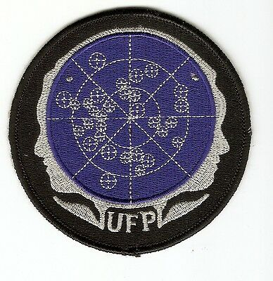 + STAR TREK Aufnäher Patch UNITED FEDERATION OF PLANETS Classic Series TOS JANUS