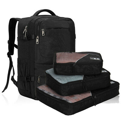 22'' Flight Approved Backpack Carry-On Travel Handy Luggage w/ 3pcs Packing Cube