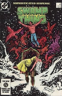 Swamp Thing (2nd Series) #31 1984 FN Stock Image