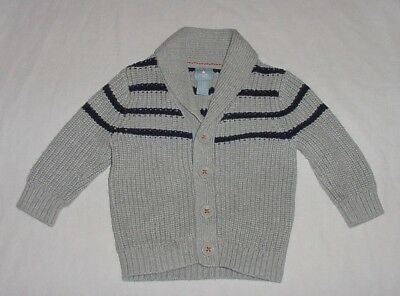 68d933ed4be7 BABY BOYS BABY Gap Blue Striped Sweater Vest Pullover 3-6 Months EUC ...
