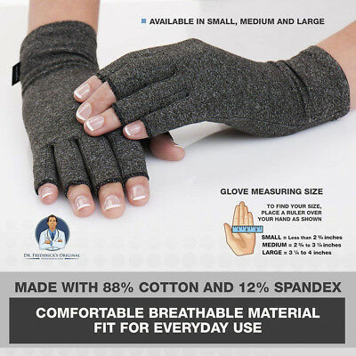 2Arthritis Gloves Compression Support Hand Wrist Brace Relief Carpal Tunnel Pain
