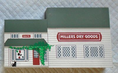 Cat's Meow Village Shelf Sitter 1994 Millers Dry Goods Amish Craftsmen Series